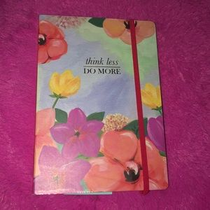 Floral mini notebook